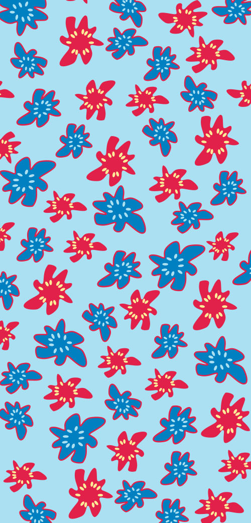 Fiore Hawaii Blu